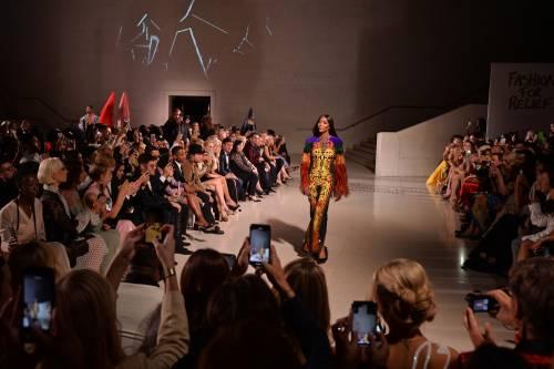 Naomi Campbell alla London Fashion Week: foto 4