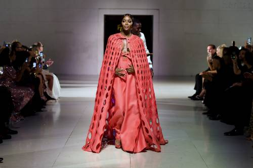 Naomi Campbell alla London Fashion Week: foto 8