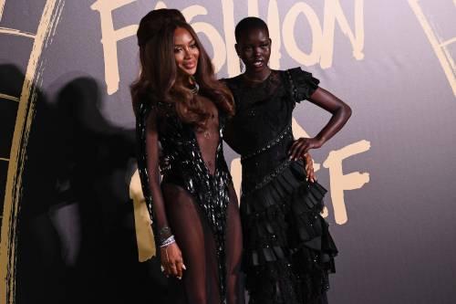 Naomi Campbell alla London Fashion Week: foto 1