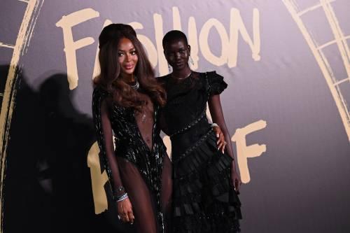 Naomi Campbell alla London Fashion Week: foto 3