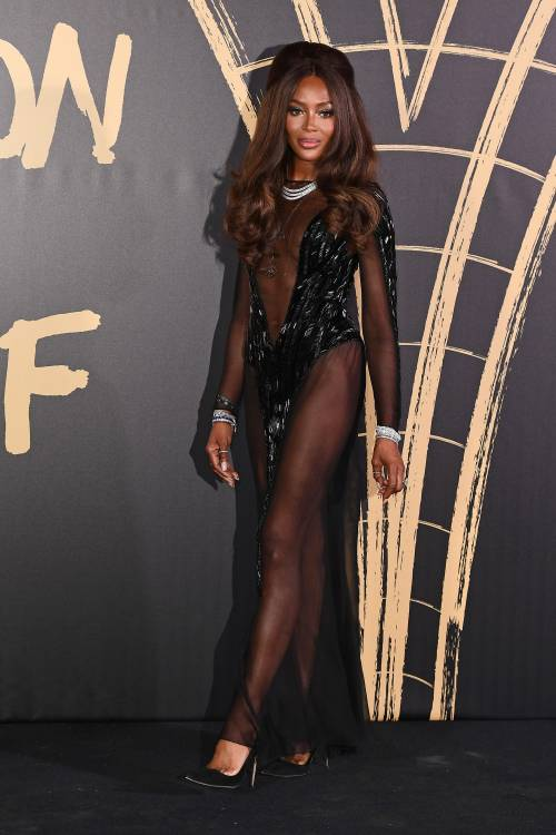 Naomi Campbell alla London Fashion Week: foto 10