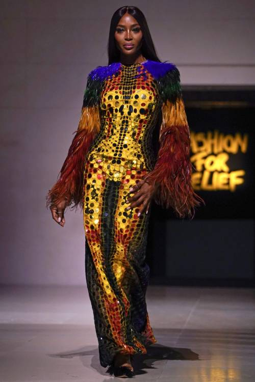 Naomi Campbell alla London Fashion Week: foto 6