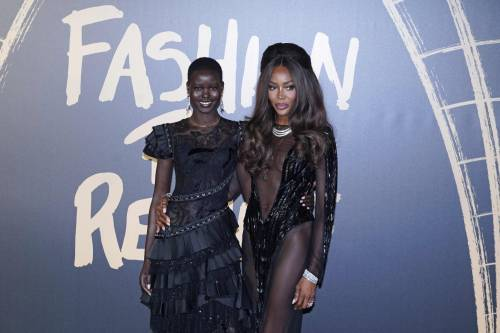 Naomi Campbell alla London Fashion Week: foto 9