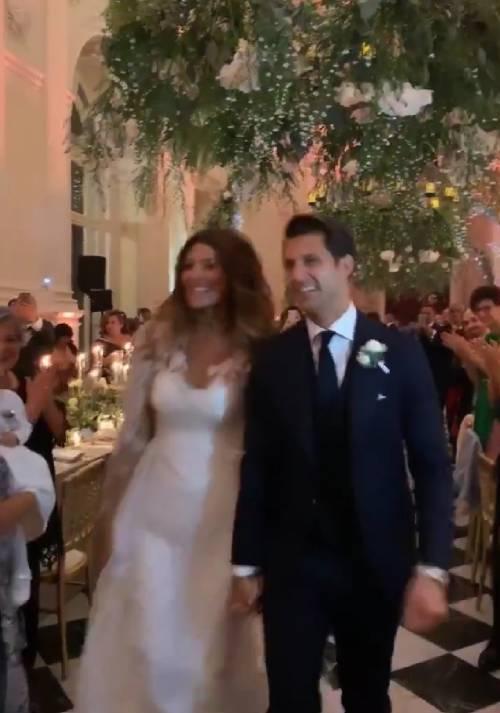 Le nozze da favola di Cristina Chiabotto e Marco Roscio 2