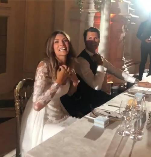 Le nozze da favola di Cristina Chiabotto e Marco Roscio 4