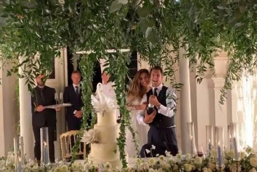 Le nozze da favola di Cristina Chiabotto e Marco Roscio 6