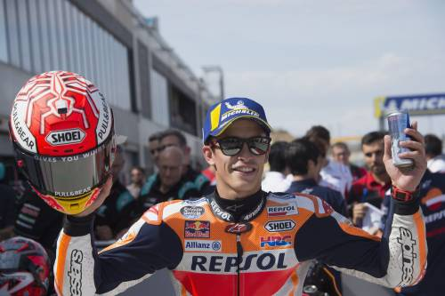 Motogp, Marquez vince sempre: è lui il padrone di Aragon