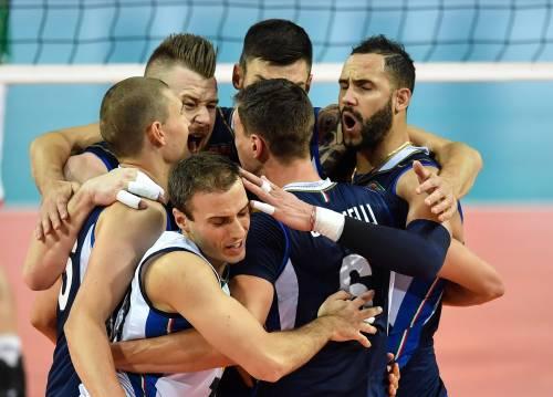Europei di pallavolo, l'Italia vola ai quarti: battuta la Turchia 3-0