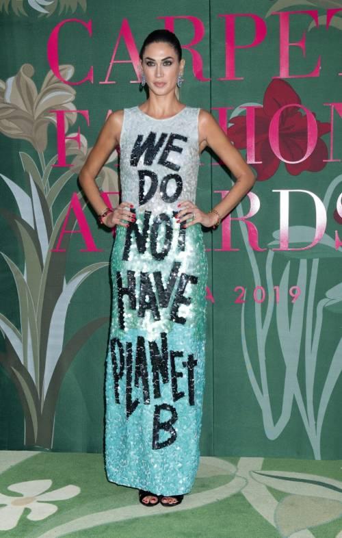 Parata di vip al Green Carpet Fashion Awards 2019 9