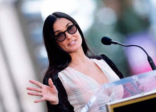"""Demi Moore: """"Bruce Willis non meritava di essere pagato più di me"""""""