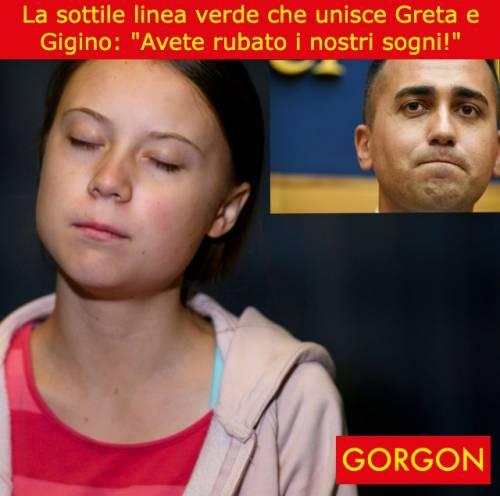 La satira del giorno: cosa unisce Greta e Gigino