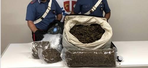 Nei bagagli di un nigeriano scoperti quasi 15 chili di marijuana