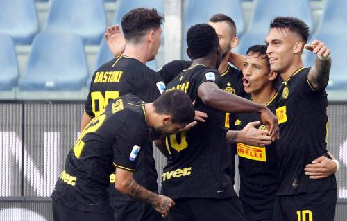 L'Inter cala il tris alla Sampdoria: 1-3 e diciotto punti in sei partite