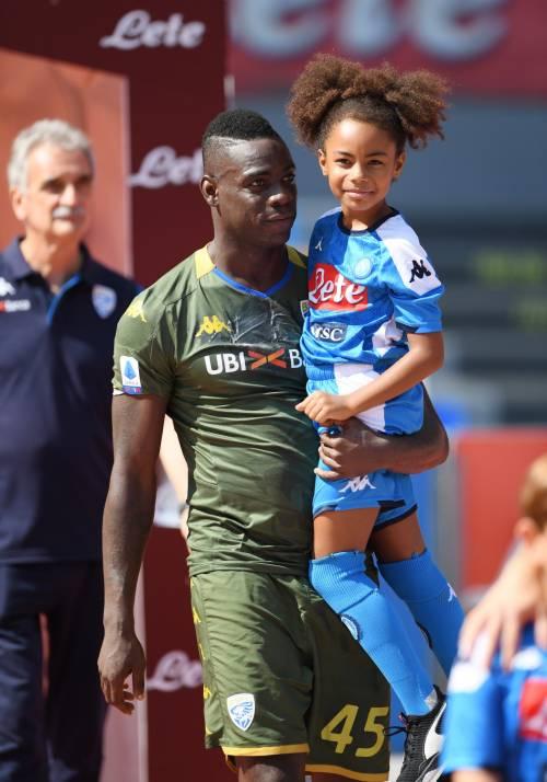 Balotelli al San Paolo con la figlia Pia: le immagini più belle 3