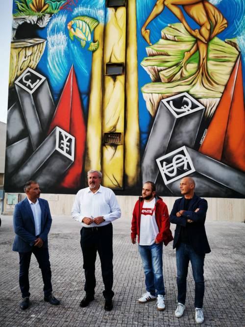 Nardò, un murale in memoria di Renata Fonte