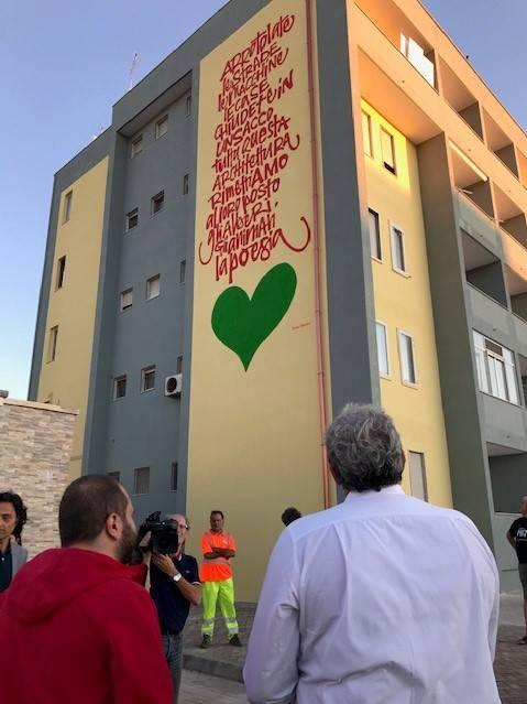 Nardò, inaugurati i murales in memoria di Renata Forte 3