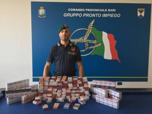 Sigarette di contrabbando sequestrate in un'abitazione a Bari