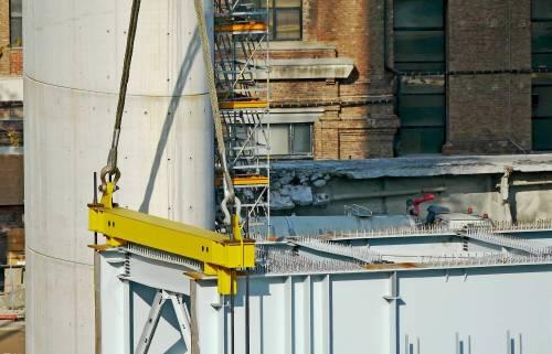 Ponte di Genova, sorgono le nuove pile 5 e 6 2