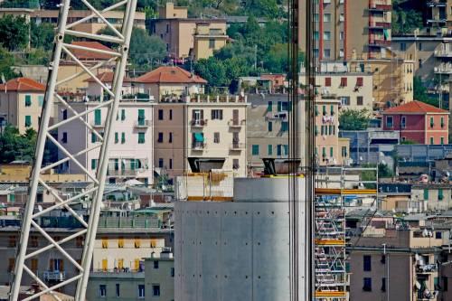 Ponte di Genova, sorgono le nuove pile 5 e 6 4