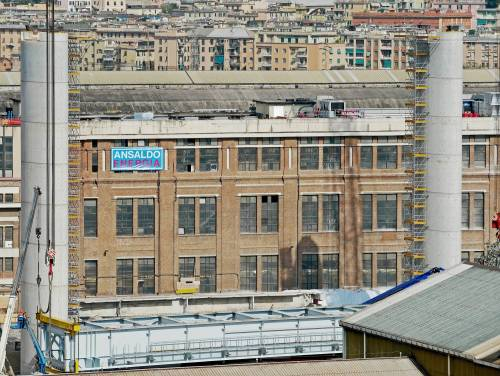 Ponte di Genova, sorgono le nuove pile 5 e 6 7