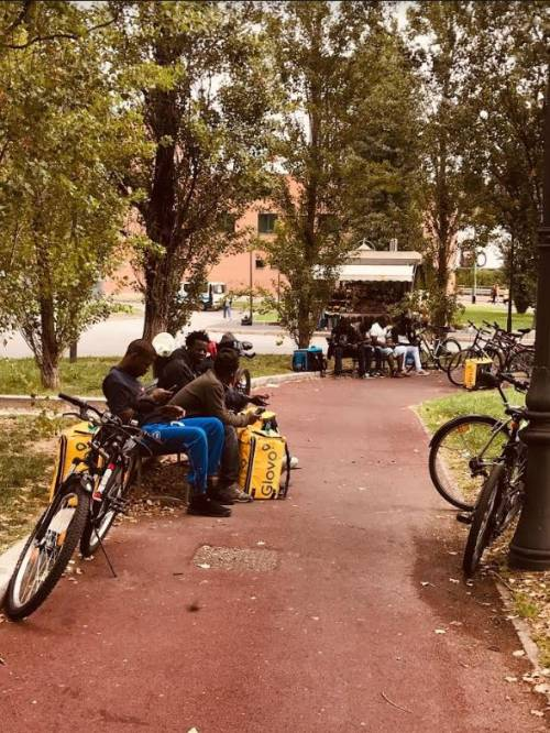Riders in rivolta: i portapizze a rischio