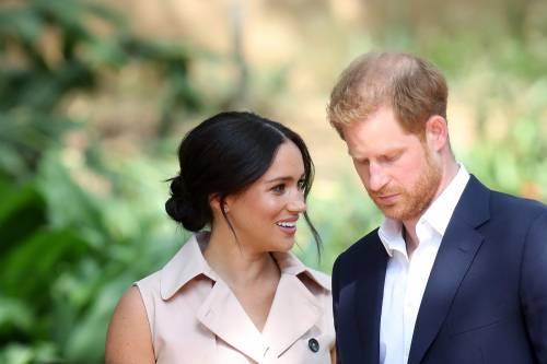 Meghan Markle e il Principe Harry, le foto in Africa 8