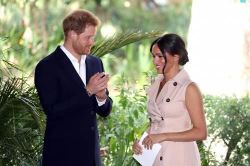 Meghan Markle e il Principe Harry, le foto in Africa 9
