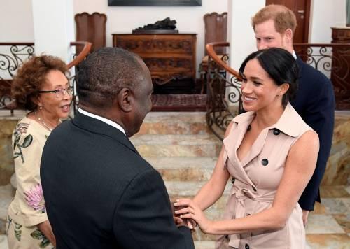Meghan Markle e il Principe Harry, le foto in Africa 10