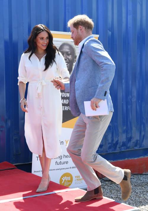 Meghan Markle e il Principe Harry, le foto in Africa 1