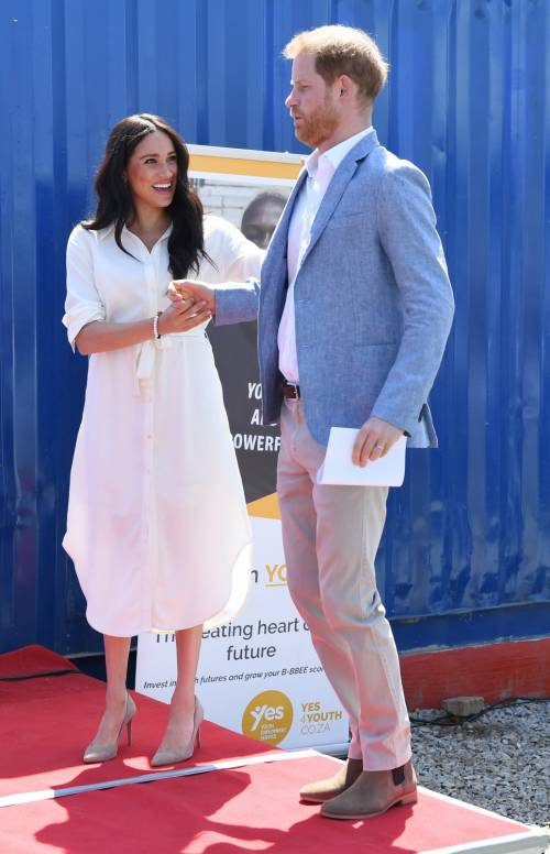 Meghan Markle e il Principe Harry, le foto in Africa 3