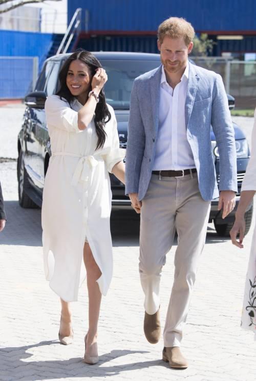 Meghan Markle e il Principe Harry, le foto in Africa 4