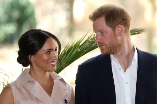 Meghan Markle e il Principe Harry, le foto in Africa 5