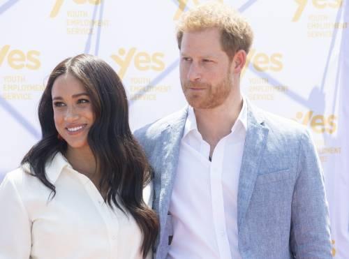 Meghan Markle e il Principe Harry, le foto in Africa 6
