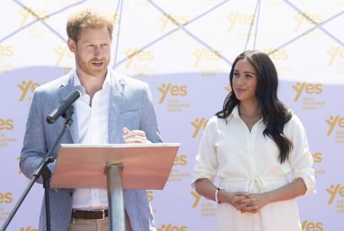 Meghan Markle e il Principe Harry, le foto in Africa 7