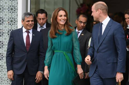 Kate Middleton e il Principe William all'Aga Khan Centre: foto 6