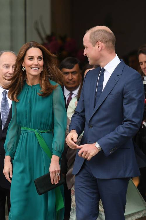 Kate Middleton e il Principe William all'Aga Khan Centre: foto 10