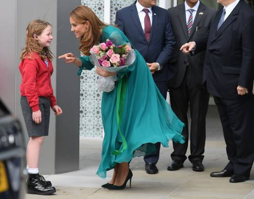 Kate Middleton e il Principe William all'Aga Khan Centre: foto 2