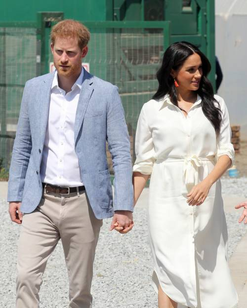 Il Principe Harry, il Principe William, Meghan Markle e Kate Middleton: le foto 1