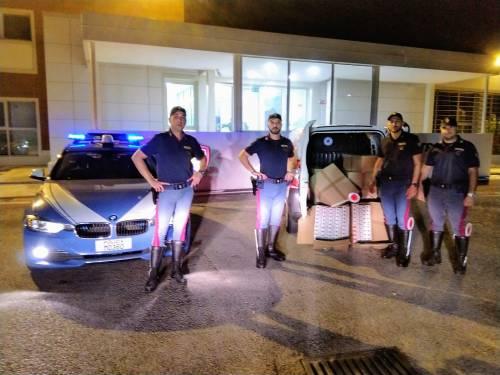 Scoperto con 100 kg di sigarette destinate al contrabbando, arrestato un agrigentino