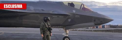 Gli F-35 italiani decollano in Islanda