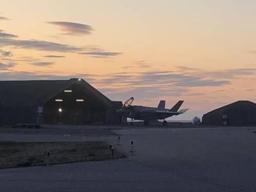 Gli F-35 italiani decollano in Islanda 5