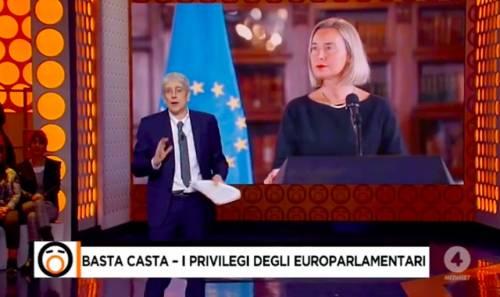 """Mario Giordano contro lo stipendio della Mogherini: """"È una follia"""""""