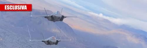 Gli F-35 italiani volano sui cieli d'Islanda
