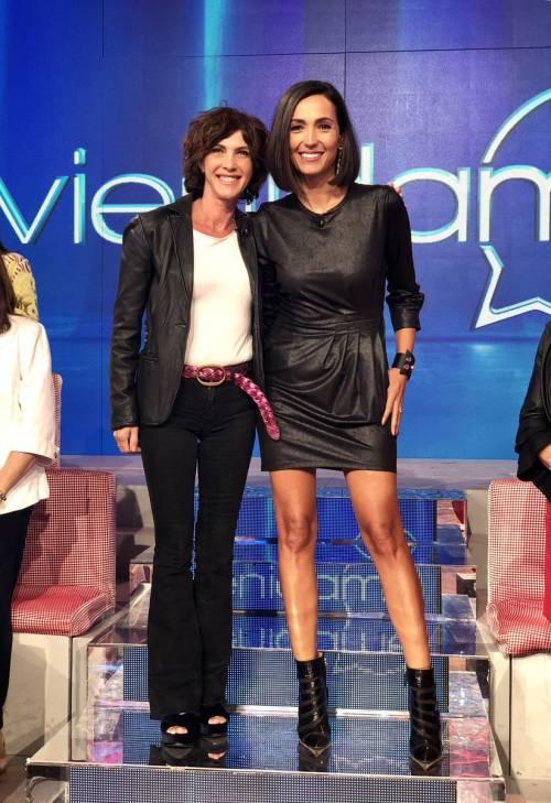 "Iacchetti scherza con Maria Amelia Monti: ""Mi facevi sangue"""