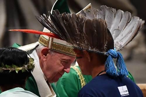 Amazzonia, il sogno del Papa prende piede: preti indios