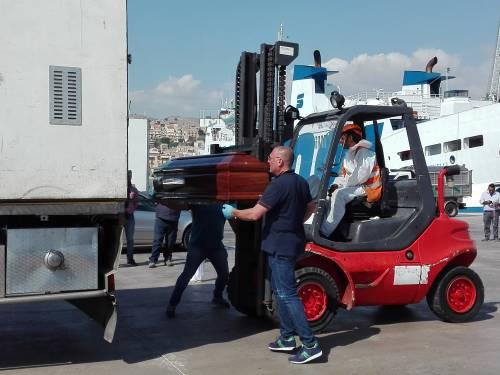 Arrivate a Porto Empedocle le salme delle vittime di Lampedusa  4