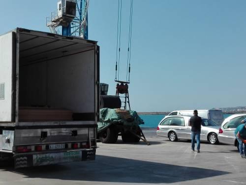 Arrivate a Porto Empedocle le salme delle vittime di Lampedusa  2