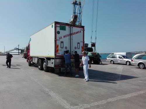 Arrivate a Porto Empedocle le salme delle vittime di Lampedusa  5