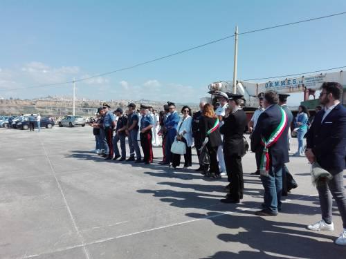 Arrivate a Porto Empedocle le salme delle vittime di Lampedusa  7