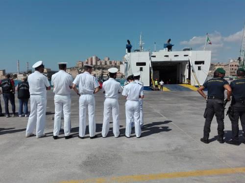 Arrivate a Porto Empedocle le salme delle vittime di Lampedusa  8